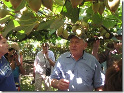 Kiwi orchard owner Graham