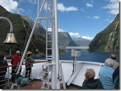 Entering Milford Sound
