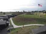 15 Stripes over Fort Moultrie