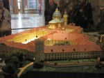 model of Melk Abbey