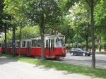 Old trams are being replaced gradually