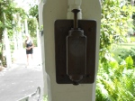Outdoor light switch invented by Edison, used by Navy