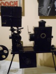 Early Edison movie projector