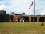 Kids playing in Fort Zachary Taylor