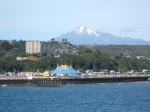 Calbuto volcano over Puerto Montt