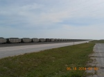 A long, long train