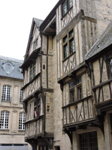 Oldest Bayeux house, 15th Century