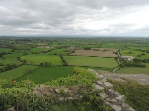 View of the Cheshire Plain