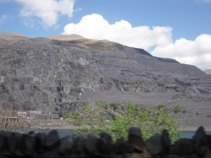 Llanberis slate mine