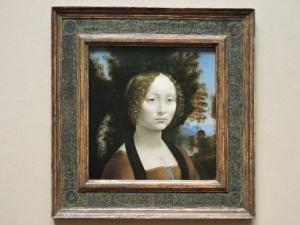 """Ginevra de' Benci"" Leonardo c 1474/1478"