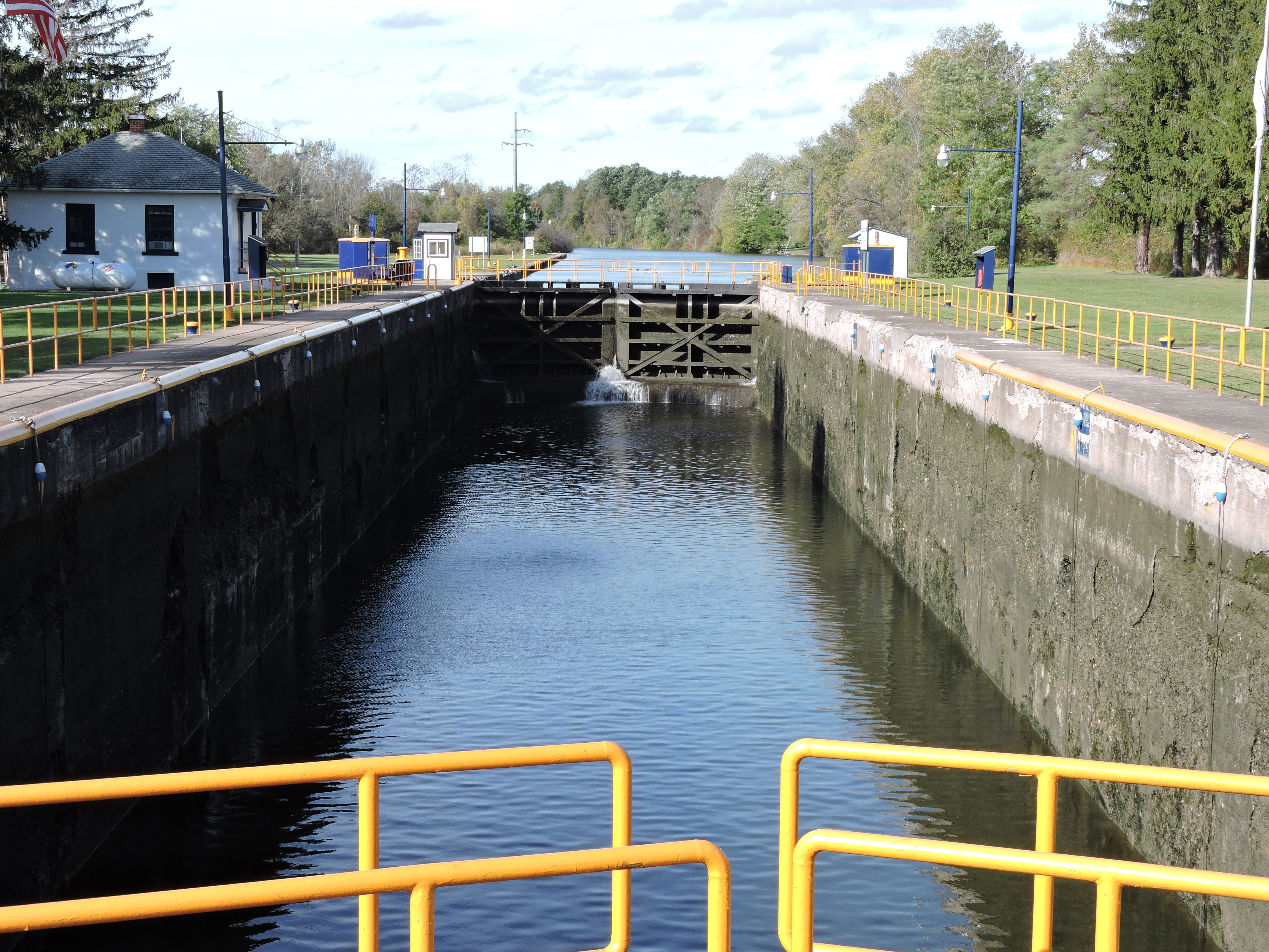 erie canal When the erie canal opened eight years later, it took only five days to travel  between the two cities, and freight rates fell 90 percent.
