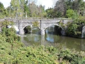 Old Aquaduct over Mud Creek.