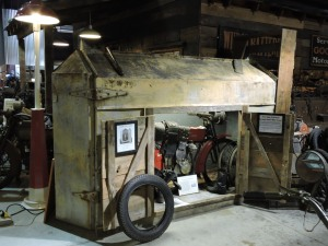 "1914 Kelm and Burbach portable ""bike house"""