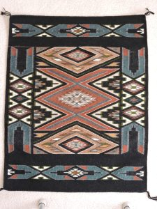Alie fell in love with this rug, a teec nos pos.