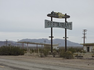 Old Route 66 nearTwentynine Palms, CA