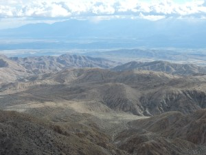 """Keys View"" Coachella Valley - Palm Springs and Salton Sea in the distance"