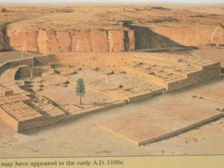 Pueblo Bonito as it might have looked.