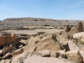 Pueblo Bonito covers 3 acres.