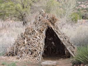 Paiute dwelling