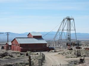 Belle Butler's Mizpah Mine and Hoist House