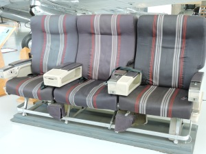 Wide Airplane Seats are now only in museums.