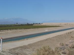 Irrigation near Mecca, CA
