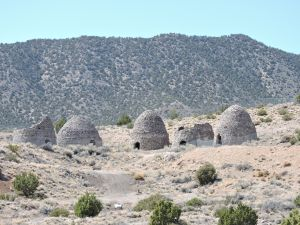 Frisco, UT on UT Rte 21, charcoal kilns