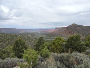 Castle Valley from La Sal