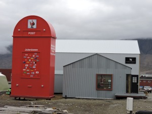 World's Largest Postal Box; Is Santa mailing gifts now?