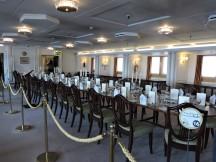 Royal Yacht dining room