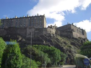 Edinburgh Castle -- photo by M. Rossman