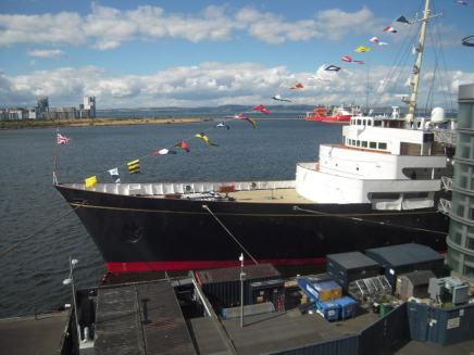 "Royal Yacht ""Britannia"" - photo by M. Rossman"