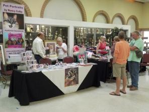 A few of the vendors