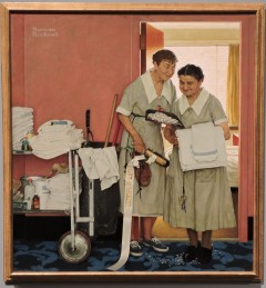 Morning After The Wedding, Rockwell, 1946