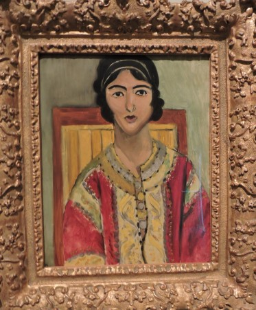 Loretta in a Red Jacket, Matisse, 1917