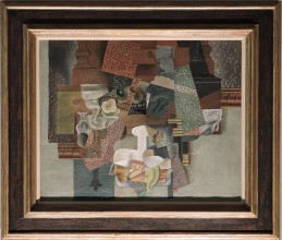 Still Life with Compote and Glass, Picasso, 1914-1915