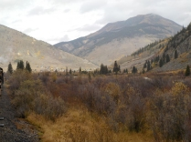 Silverton in the distance