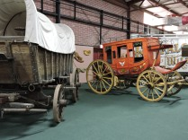 """Cover Wagon and Stage Coach from """"101 Ranch Circus"""""""