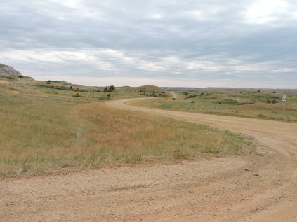 Driving through National Grasslands looking for Elkhorn Ranch