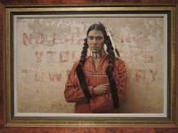 """James Bama, """"A contemporary Sioux Indian,"""" 1978"""