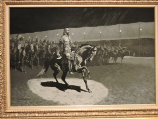 Buffalo Bill in the Limelight, Frederic Remington, 1899