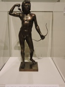 Choosing of the Arrow, Henry Kirke Brown, 1849, earliest American bronze cast.