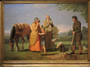 Prairie Burial, by William Ranney, 1848