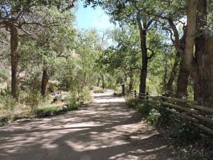 West Creek picnic area
