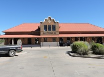 The 1899 railroad station.