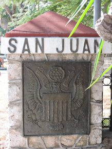 One of the few places the US crest can be found in Cuba