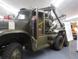 1941 U.S. Army Diamond T wrecker.