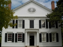 Noah Webster built this home in 1823 and published his dictionary here in 1828