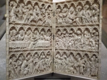 Art Gallery of Ontario: Ivory scenes from the life of Christ c. 1350 -1375