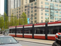 The city is served by streetcars.